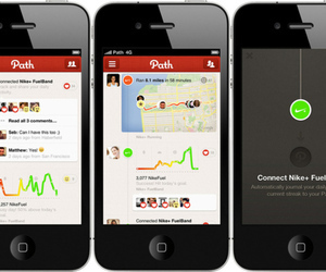 Path adds support for Nike+ FuelBand with integrated Fuel score graph | Tibz' tech news (Social Media, Startup, Technology, Publishing and Entrepreneurship) | Scoop.it