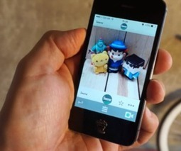 Seene lets you capture 3D objects using an iPhone | Matmi Staff finds... | Scoop.it