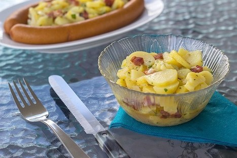 Warm German Potato Salad (Kartoffelsalat) | Angelika's German Magazine | Scoop.it