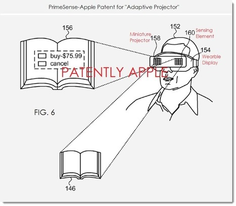Apple Granted their Second Patent this Quarter for an Adaptive Augmented Reality Projector - Patently Apple | Digital Imaging - Telling the Story | Scoop.it