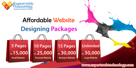 Affordable Website Designing Packages | Web Development Services | Scoop.it