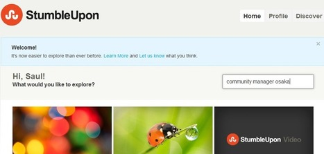 StumbleUpon Primer for Bloggers, Part 2 | Online Community Manager | Scoop.it