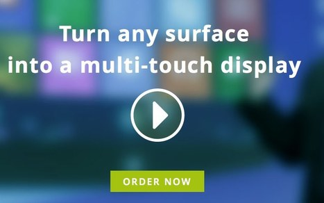 Ubi turns any surface into a multi-touch display. | Commercial Software and Apps for Learning | Scoop.it