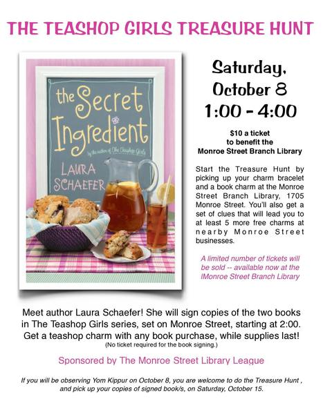 Announcing the Monroe Street Teashop Girls library fundraiser...complete with collectible charms! | Cha-Ching | Scoop.it