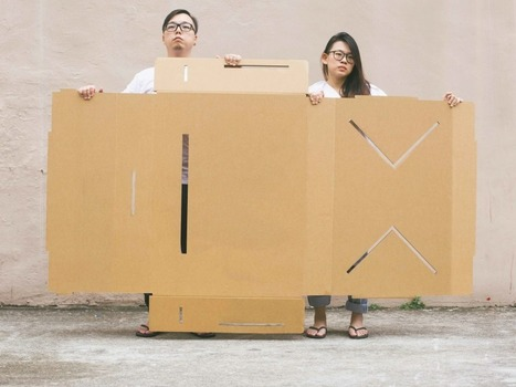 A Strong Cardboard Table Perfect For Pop-Up Shops and Exhibitions - Core77 | Matters of Design | Scoop.it