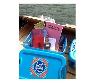Une bibliothèque flottante pour lire entre deux eaux | Veille professionnelle des Bibliothèques-Médiathèques de Metz | Scoop.it