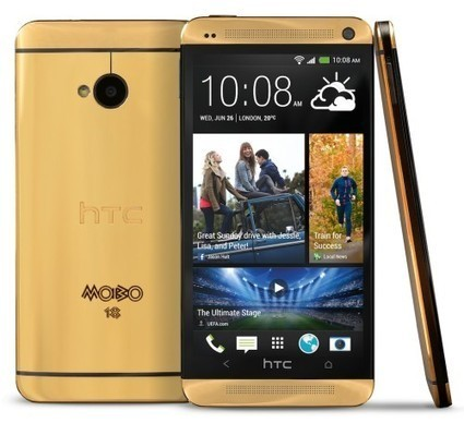 HTC One Gold Edition Launched as Prize For Mobo Awards | Wine | Scoop.it