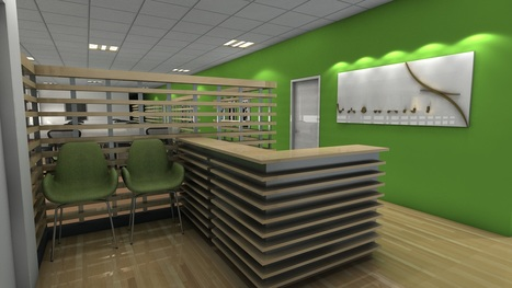 Modern Commercial Office Interior 3d Rendering | Architecture Engineering & Construction (AEC) | Scoop.it