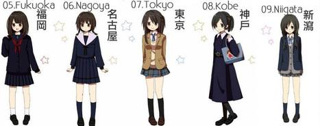 Les différentes façons de porter l'uniforme à travers le Japon ! | Mangas, littérature et culture d'Asie | Scoop.it