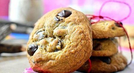 Cookies moelleux aux pepites de chocolat | Desserts - Mousses - PannaCotta - glaces | Scoop.it