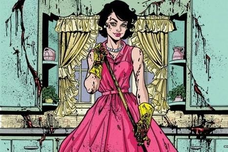 Homemaking and Homicide: Joelle Jones Talks 'Lady Killer' | Ladies Making Comics | Scoop.it