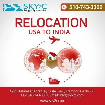 Things to Consider Before Relocating from the USA to India   Commercial Cargo Services Fremont   Scoop.it