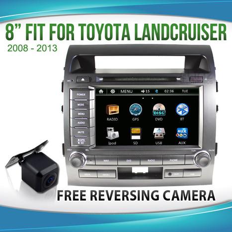 "8"" TOYOTA Landcruiser 200 Series 07-13 CAR GPS DVD Player | car DVD Player | Scoop.it"