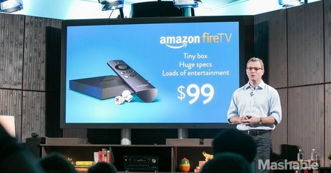 Amazon Introduces Fire TV Set-Top Box, Gaming Console Hybrid   It News and new devices   Scoop.it