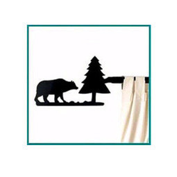 Adding Black Bear Decor to Your Cabin Windows   Window Treatments   Scoop.it