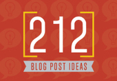PDF DOWNLOAD: The Ultimate List Of Blog Post Ideas, creative blog post ideas, 100 blog post ideas, ideas to post on a blog, how to come up with blog post ideas, new blog post ideas, 1st blog post i...   Communications and Social Media   Scoop.it