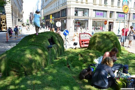 Online Exhibition (slideshow):  Green Utopia of Kaisa Salmi -Virtual gallery presenting the work of environmental artists from Finland in the form of Site Specific Art, Environmental Art, Land Art,... | artesaniaflorae | Scoop.it