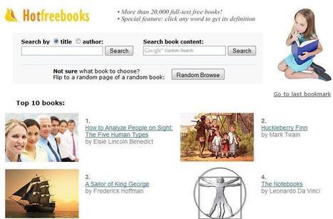 20.000 libros en línea para leer gratis sin necesidad de descargar ... | ana lida | Scoop.it