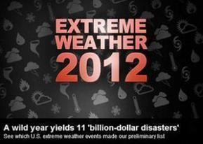 Preliminary Info on 2012 U.S. Billion-Dollar Extreme Weather/Climate Events | National Climatic Data Center (NCDC) | Water, Weather, Climate | Scoop.it