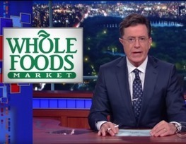 'But Whole Foods Is Supposed to Be Cage-Free!': Colbert Skewers High-End Grocer for Using Prison Labor | Inequality, Poverty, and Corruption: Effects and Solutions | Scoop.it