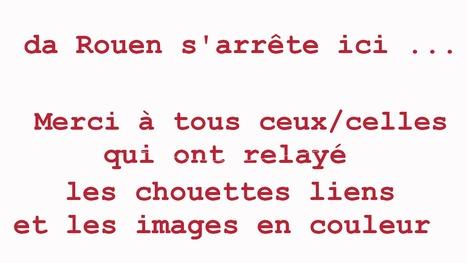 da Rouen s'arrête ici .. merci à tous ceux/celles qui ont relayé chouettes liens et images en couleur  depuis janvier 2011 | Da Rouen et zalentours | Scoop.it