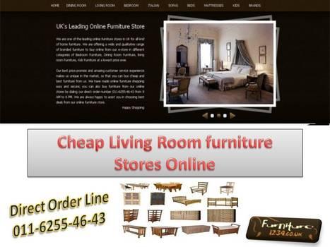 6 Easy Ways to Bookyour Living Room Furnitur | Furniture1234 | Scoop.it