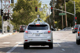 Red lights , cyclists, Google's driverless car  copes with them all! | Suzuki Advertising | Scoop.it
