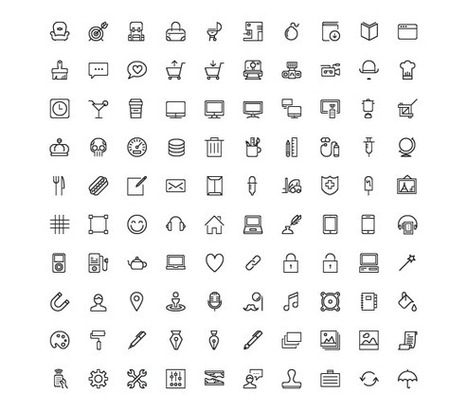 Nasty Icons. 45 free vector icons to spice up your designs! | Typography, graphisme & curiosités graphiques | Scoop.it