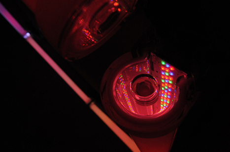 When LEDs and math equal high art | Art and… | Scoop.it