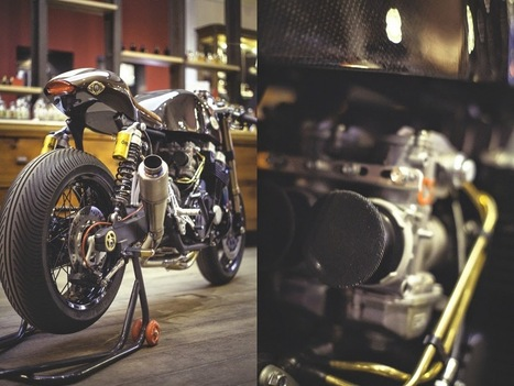 Oficina Honda CB750 RC42 | custom cafe racer | Scoop.it