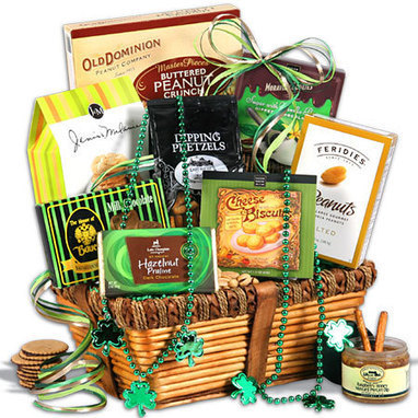 St. Patrick's Day Gift Basket   Gifts for Holidays   Scoop.it