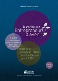 Entrepreneurs d'avenir au CESE le 5 juin 2012 | great buzzness | Scoop.it