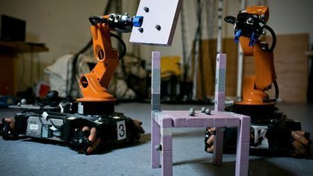 MIT teaches robots to be better at building together | Gizmag | Cultibotics | Scoop.it