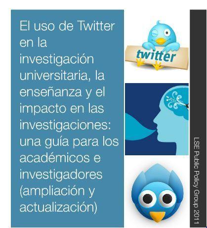 El uso de Twitter en la investigación universitaria, la enseñanza y el impacto en las investigaciones: una guía para los académicos e investigadores (ampliación y actualización) | Fernando Santamaría | Noticias, Recursos y Contenidos sobre Aprendizaje | Scoop.it