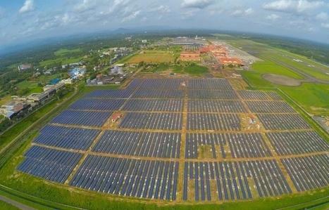 Inde: Le pays lance le premier aéroport solaire au monde   Design, Innovation et Marketing   Scoop.it