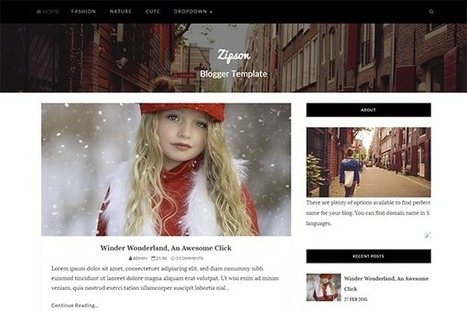 ZIPSON | Blogger themes | Scoop.it