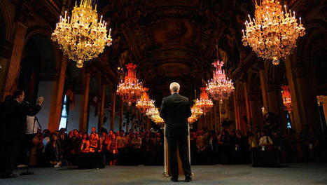 How To Stand In Front Of A Room Full Of People And Tell A Stellar Story | leadership | Scoop.it