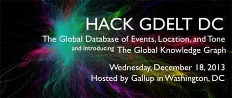 All Features: GDELT: Global Database of Events, Language, and Tone | Web 2.0 et société | Scoop.it