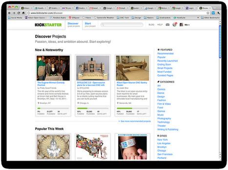Kickstarter : 2013 l'année de tous les records pour le financement participatif | La veille de generation en action sur la communication et le web 2.0 | Scoop.it