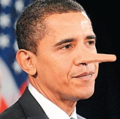 BULLSH!T ARTIST: Obama Now Lying About Lies - Clash Daily