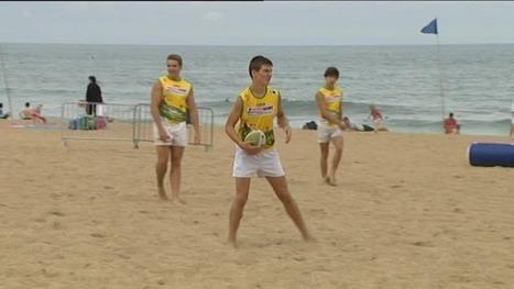 Anglet, le beach rugby festival fait le plein - France 3 Aquitaine | BABinfo Pays Basque | Scoop.it
