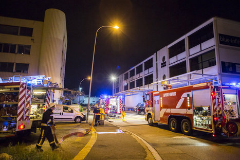 Incendie d'un wagon à la Praille | N°1 de la vente d'alarme sur internet | Scoop.it