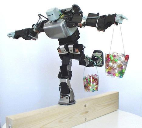 Ce robot garde l'équilibre en toute circonstance | Actualités robots et humanoïdes | Scoop.it