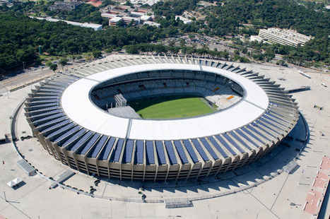 BCMF renews Mineirao stadium in Brazil for 2014 world cup - designboom | architecture & design magazine | The Architecture of the City | Scoop.it