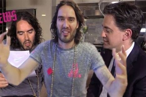 It's official - Russell Brand is saying Vote Labour | Welfare, Disability, Politics and People's Right's | Scoop.it