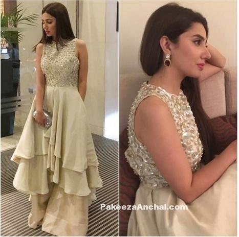 Pakistani Actress Mahira Khan in Designer Gown by Manish Malhotra | Indian Fashion Updates | Scoop.it