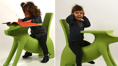 Starck's Dog Desk Will Actually Help Kids Do Their Homework | architecture design | Scoop.it