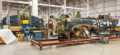 Smithsonian Collections Blog: Restoration of the Curtiss SB2C-5 Helldiver: From Airplane to Archives Back to Airplane | Intriguing News and Events in Digital format | Scoop.it