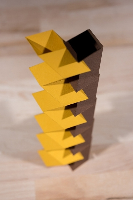 Researchers Discover New Way to Make Sturdy Structures that Fold Flat | An odd mix of stuff | Scoop.it