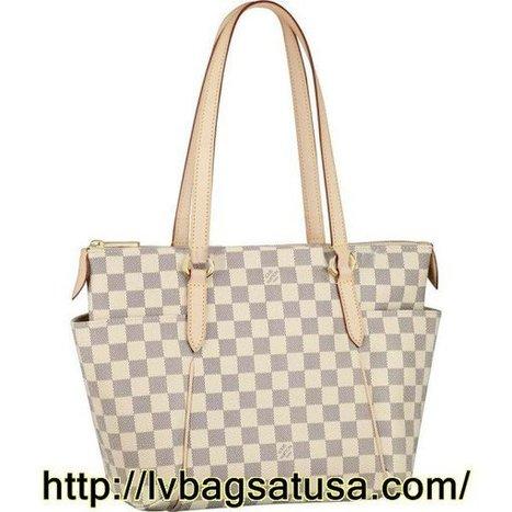 Louis Vuitton Totally PM Damier Azur Canvas N51261 | Louis Vuitton Outlet Stores Locations | Scoop.it